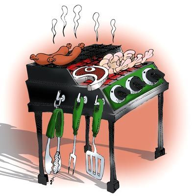 collection of aussie. Barbecue clipart bbq australian