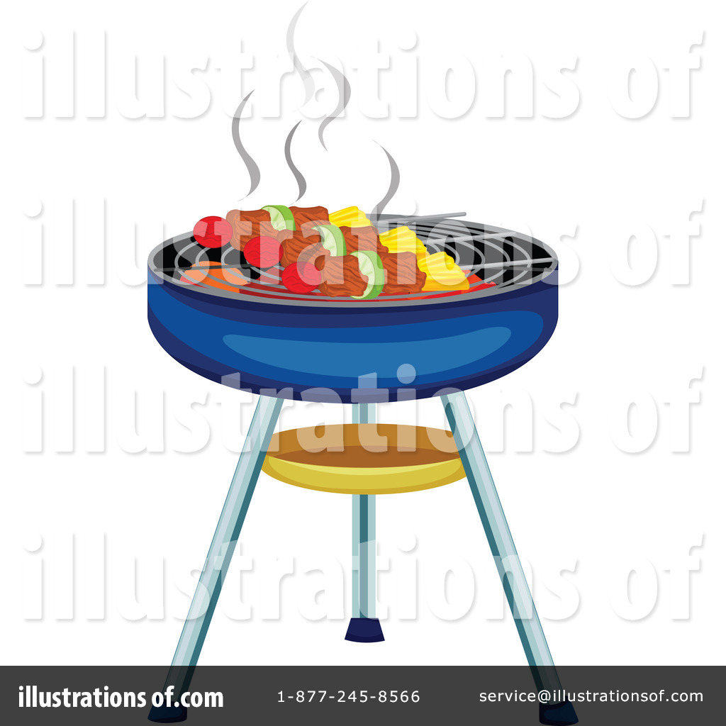 Illustration by graphics rf. Barbecue clipart bbq food