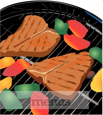 Barbecue clipart bbq food. Grill barbeque
