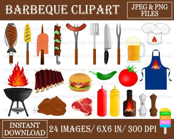 Barbecue clipart bbq food. Clip art digital
