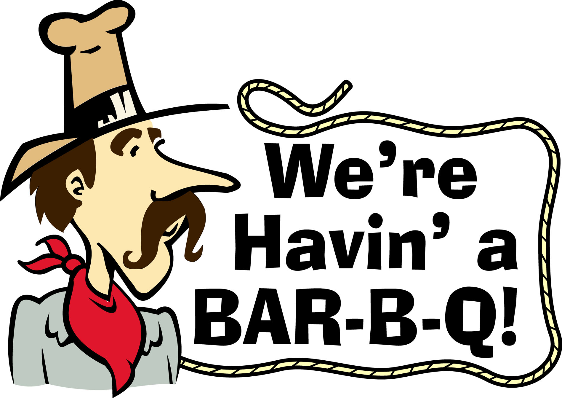 Luncheon clipart fundraiser. Free western bbq cliparts