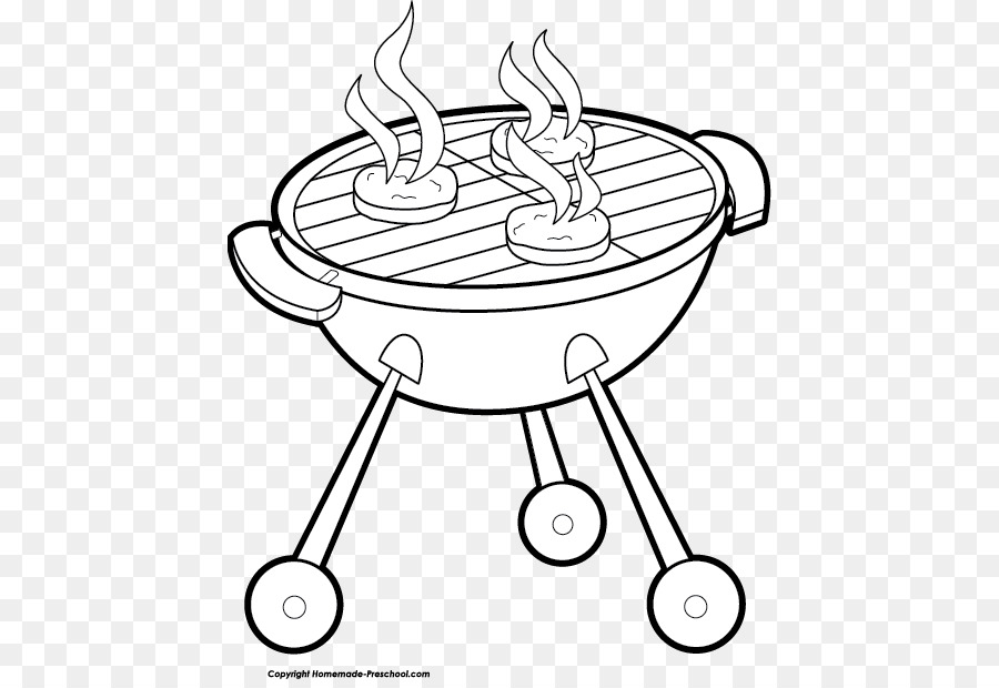 Barbecue clipart black and white. Sauce steak grilling clip