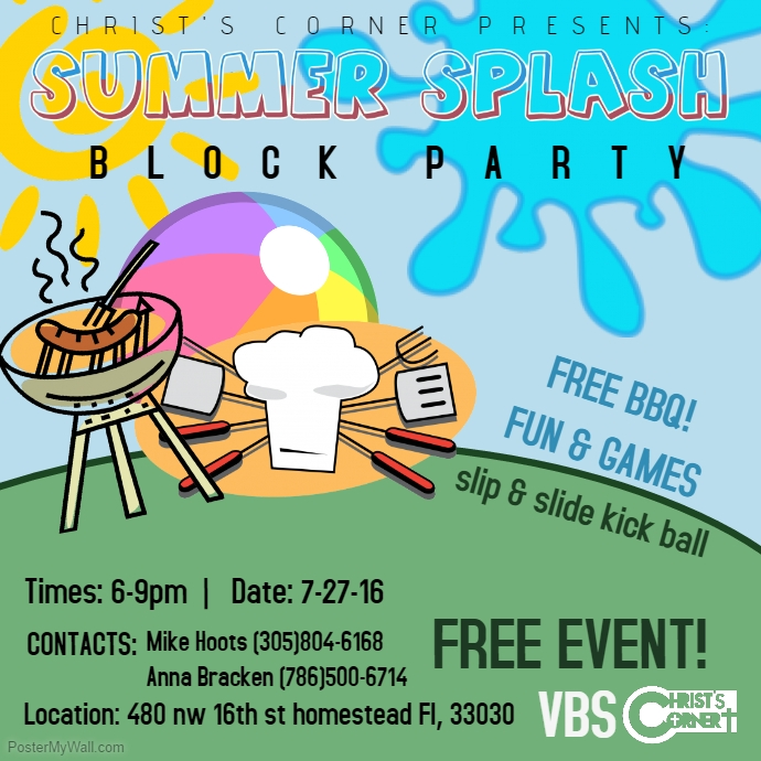 Flyer ideas incep imagine. Barbecue clipart block party