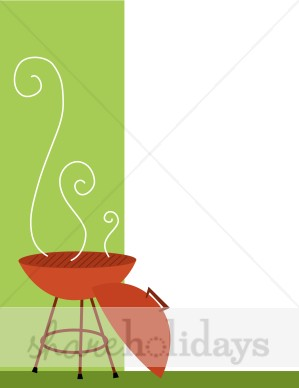 Background backgrounds. Barbecue clipart block party