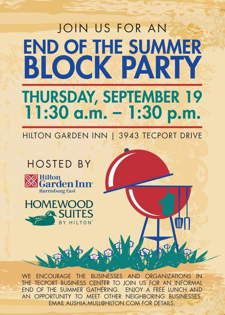 Invitation sansalvaje com to. Barbecue clipart block party