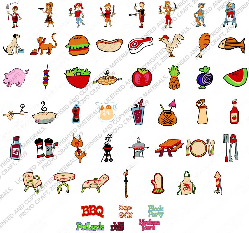 Barbecue clipart block party. Sample images jpg binder