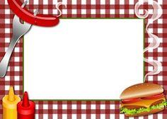 barbecue clipart border