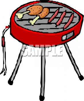 Barbecue clipart cartoon. Bbq chicken panda free