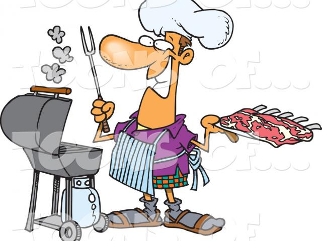 Barbecue clipart cartoon. Free on dumielauxepices net