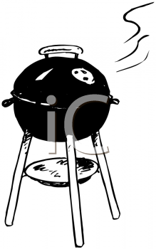 barbecue clipart charcoal grill