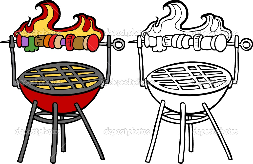 Clip art panda free. Barbecue clipart charcoal grill