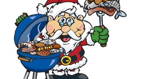 Barbecue clipart christmas.  collection of australian