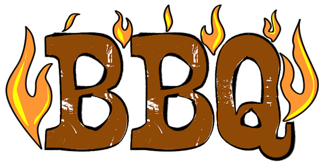 Bbq panda free images. Barbecue clipart church