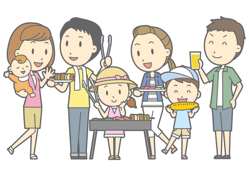Onlinelabels clip art family. Number 1 clipart group 1