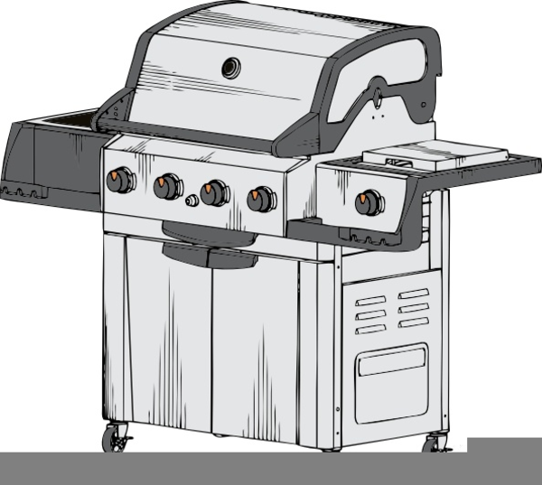 Free images at clker. Barbecue clipart gas grill