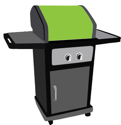 Barbecue clipart gas grill. Don t get burned