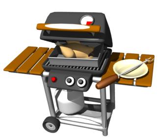 Barbecue clipart gas grill. Free cliparts download clip