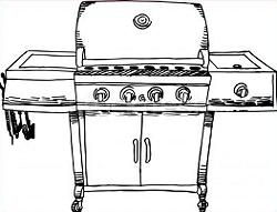 Free cliparts download clip. Barbecue clipart gas grill