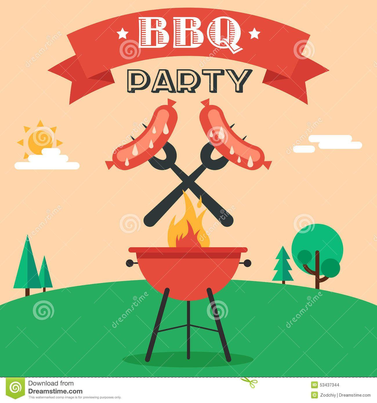 Barbecue clipart graduation. Bbq party invitations make