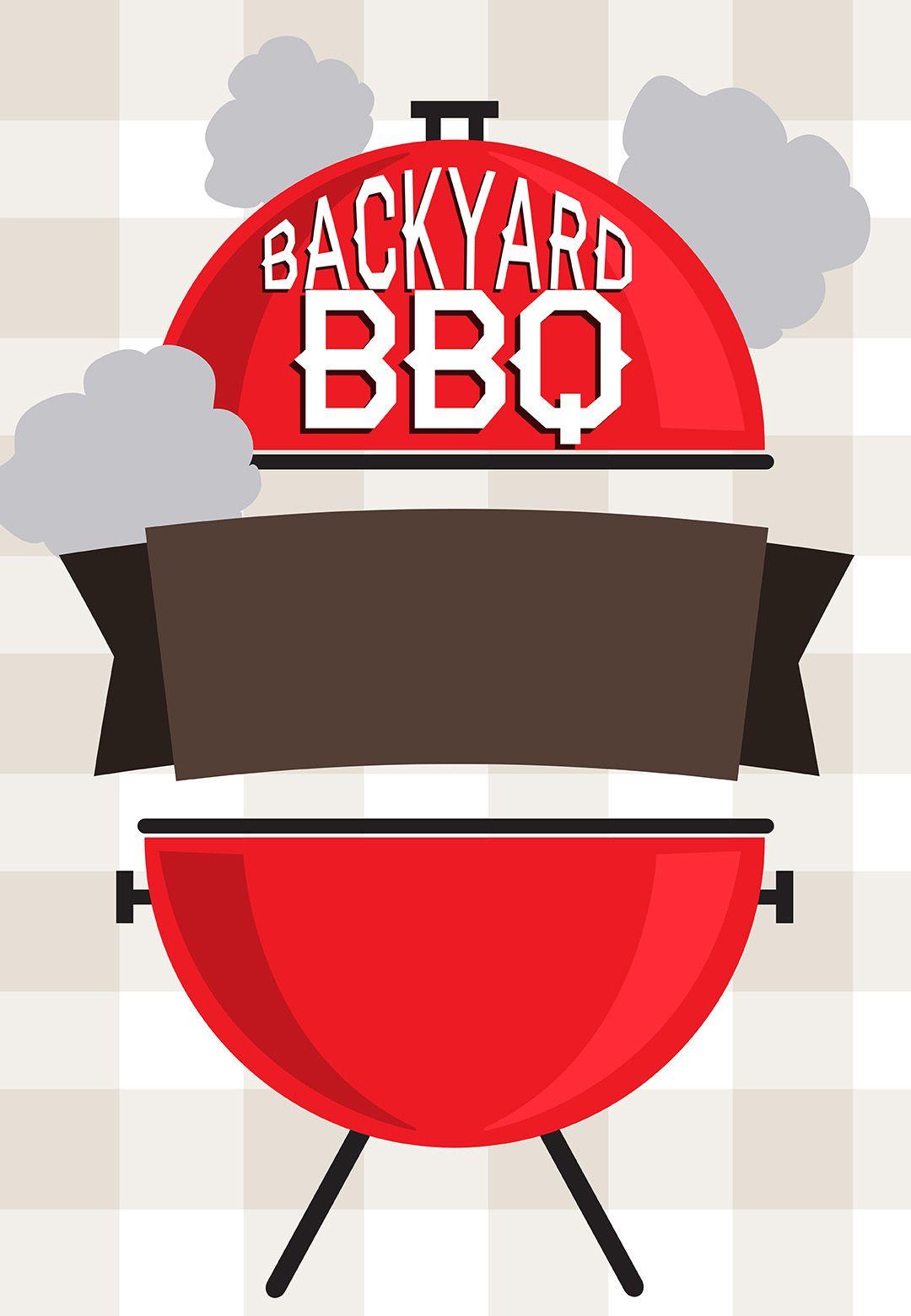 Barbecue clipart graduation. Bbq invitation free printable