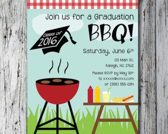 barbecue clipart graduation