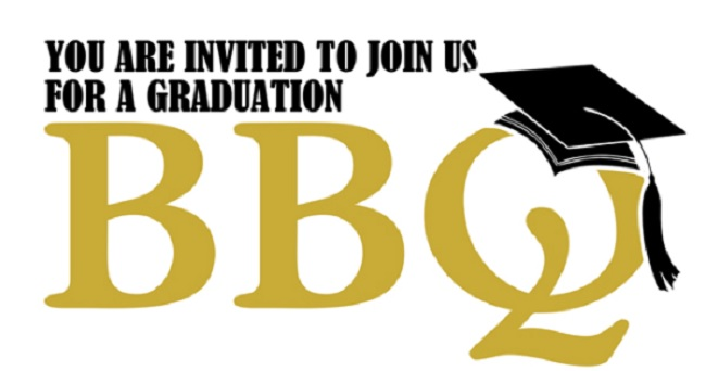 Barbecue clipart graduation. Gss party