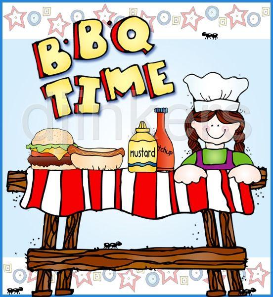 Bbq card clip art. Barbecue clipart kid