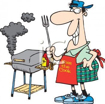 free labor day. Barbecue clipart logo