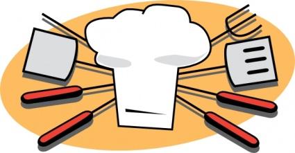 Barbecue clipart logo. Bbq tools cliparts clipartlogo