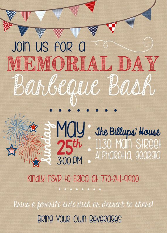 barbecue clipart memorial day