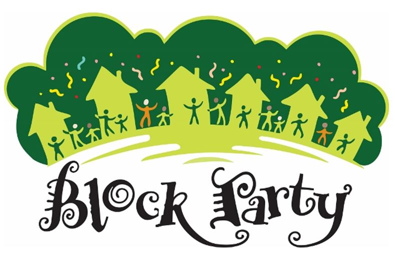 Free neighborhood party cliparts. Neighbors clipart picnic