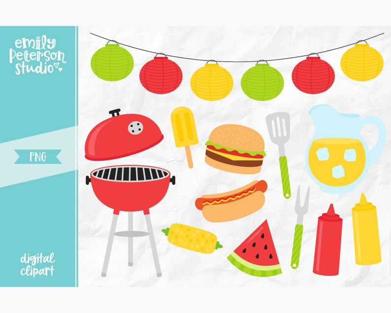 Barbecue clipart office. Summer bbq clip art