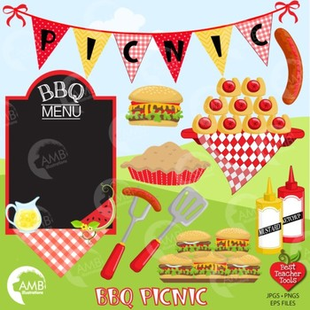 Bbq clipart picnic. Barbecue african american amb