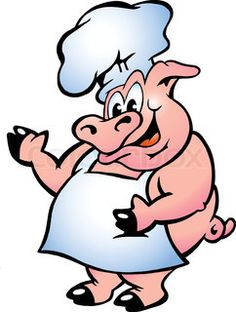 Clip art free barbeque. Barbecue clipart pig