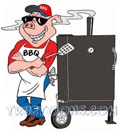Smoker clip art free. Bbq clipart stove