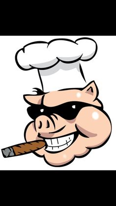 Bbq smoker clip art. Barbecue clipart pig