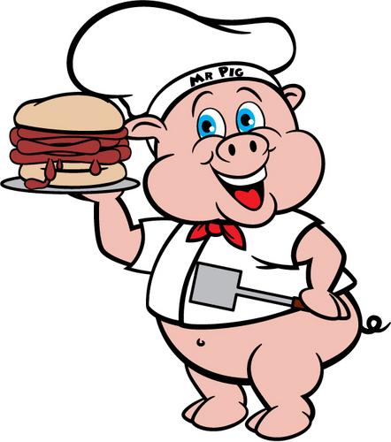 Grilling clipart pulled pork bbq. Free pig logo download