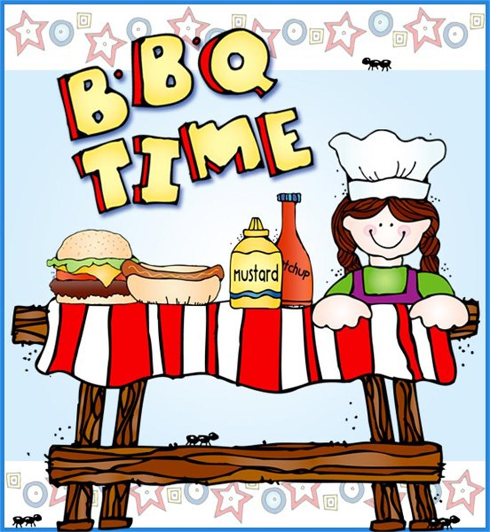 End of group the. Barbecue clipart school
