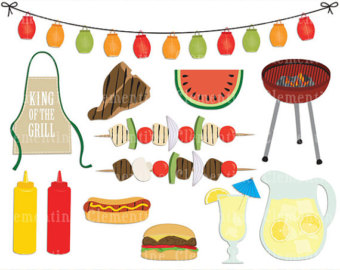Barbecue clipart summer. Free bbq cliparts download