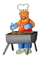 Bbq party clip art. Barbecue clipart summer