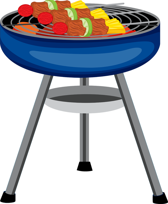 Stamp clipart bbq. Barbecue png