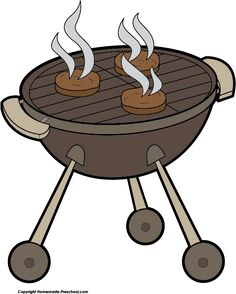 Love having a bbq. Barbecue clipart transparent background