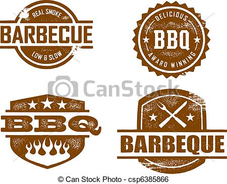 Bbq . Barbecue clipart vintage