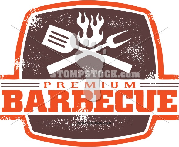 Barbecue clipart vintage. Style bbq clip art