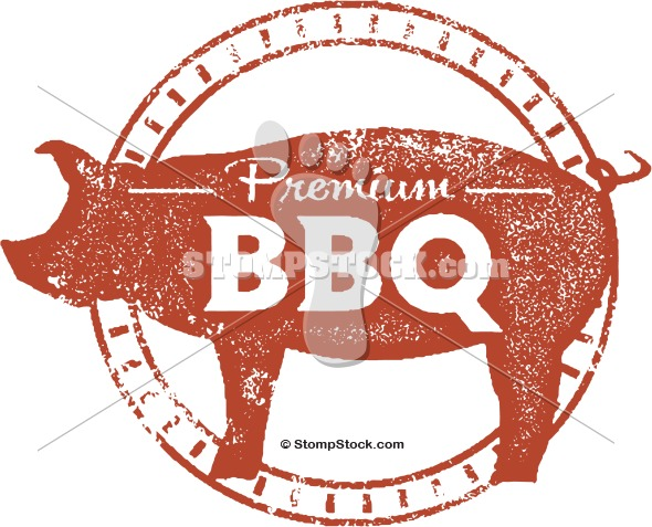 Barbecue clipart vintage. Bbq clip art stompstock