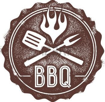 barbecue clipart vintage