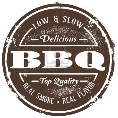Barbecue clipart vintage. Stock vector in bbq
