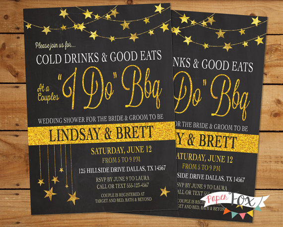 I do bbq invitations. Barbecue clipart wedding
