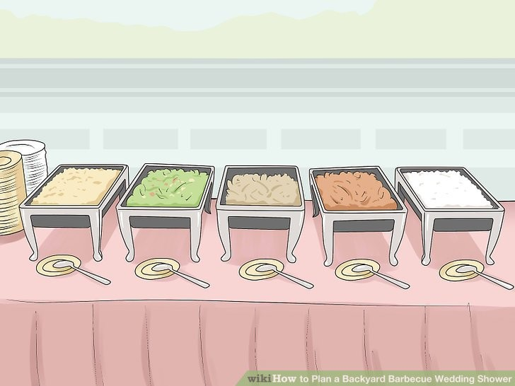 Backyard fresh how to. Barbecue clipart wedding