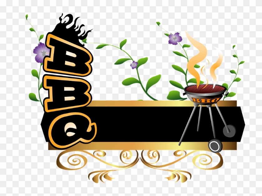 Grilling transparent background . Bbq clipart word